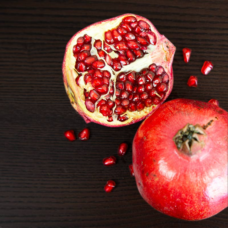 Melonga products - Pomegranates